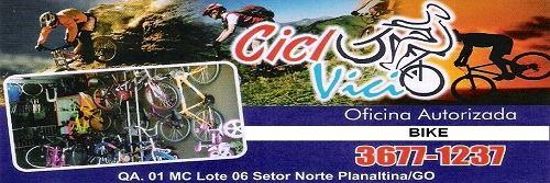Ciclo Vício – Bike – EMPRESA – PLANALTINA – GO – BR