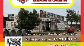 GP Blocos – Artefatos de Concreto – EMPRESA – PLANALTINA – GO – BR