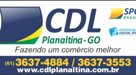 CDL – Câmara de Dirigentes Logistas – INSTITUIÇÃO – PLANALTINA – GO – BR