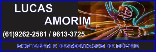 Lucas Amorim – Montagem e Desmontagem de Móveis – AUTÔNOMO – PLANALTINA – GO – BR