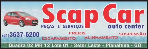Scap Car Auto Center – Peças e Serviços – EMPRESA – PLANALTINA – GO – BR