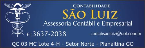 Contabilidade São Luiz – Serviços Contábeis – EMPRESA – PLANALTINA – GO – BR