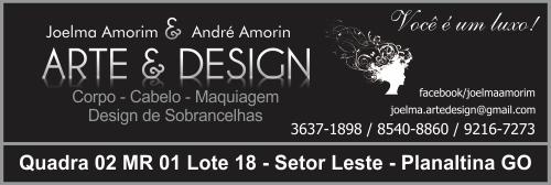 Arte e Design – Joelma Amorim e André Amorim – EMPRESA – PLANALTINA – GO – BR