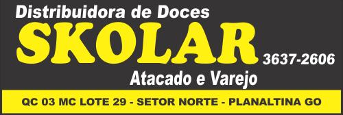 Skolar – Distribuidora de Doces – Atacado e Varejo – EMPRESA – PLANALTINA – GO – BR