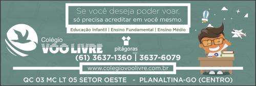 Colégio Voo Livre – EMPRESA – PLANALTINA – GO – BR
