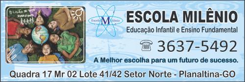 Escola Milênio – EMPRESA – PLANALTINA – GO – BR