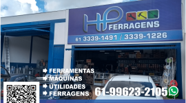 HP Ferragens – Ferramentas e Utilidades – EMPRESA – SÃO SEBASTIÃO – DF – BR