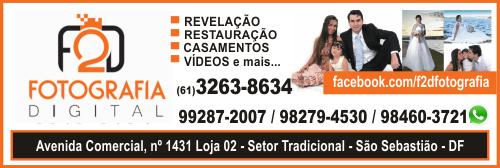 F2D Fotografia Digital – EMPRESA – SÃO SEBASTIÃO – DF – BR