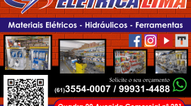 Elétrica Lima – Materiais Elétricos e Hidráulicos – EMPRESA – SÃO SEBASTIÃO – DF – BR