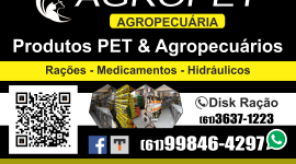 Agropet – Agropecuária – EMPRESA – PLANALTINA – GO – BR