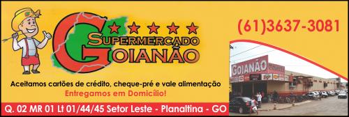 Supermercado Goianão – EMPRESA – PLANALTINA – GO – BR