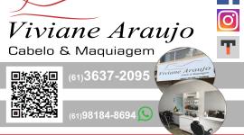 Viviane Araujo – Cabelo e Maquiagem – EMPRESA – PLANALTINA – GO – BR