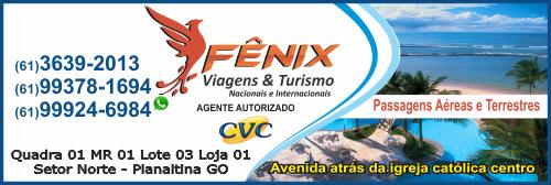 Fênix Viagens e Turismo – EMPRESA – PLANALTINA – GO – BR