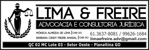 Lima e Freire – Advocacia e Consultoria Jurídica – EMPRESA – PLANALTINA – GO – BR