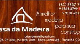 Casa da Madeira – EMPRESA – PLANALTINA – GO – BR