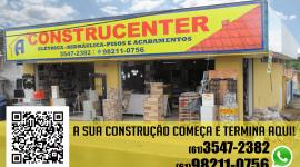 Construcenter – Materiais para Construção – EMPRESA – SÃO SEBASTIÃO – DF-BR