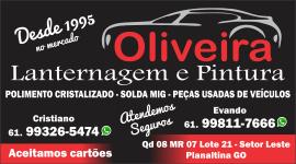Oliveira Lanternagem e Pintura – EMPRESA – PLANALTINA – GO – BR