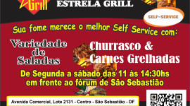 Restaurante Estrela Grill – EMPRESA – SÃO SEBASTIÃO – DF – BR
