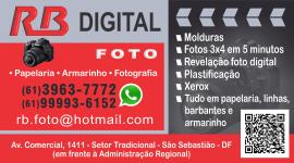 RB Digital – Fotos, Papelaria, Armarinho e Serviços – EMPRESA – SÃO SEBASTIÃO – DF – BR
