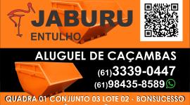 Jaburu – Entulho e Serviços – EMPRESA – SÃO SEBASTIÃO – DF – BR