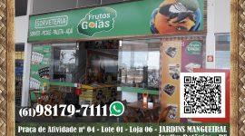 Sorveteria Frutos de Goiás – EMPRESA – JARDIM BOTÂNICO – DF – BR