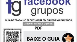 Guia de Trabalho Profissional em Grupos no Facebook – Simples, Prático e Orgânico – BR – T