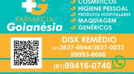 Farmácia Goianésia – EMPRESA – PLANALTINA – GO – BR